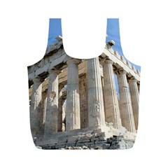 Parthenon Full Print Recycle Bags (m)  by trendistuff