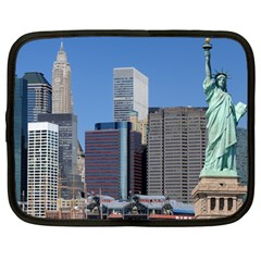 Ny Liberty 2 Netbook Case (large) by trendistuff