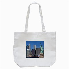 Ny Liberty 2 Tote Bag (white)  by trendistuff