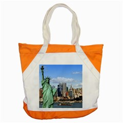 Ny Liberty 1 Accent Tote Bag  by trendistuff