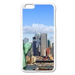 Ny Liberty 1 Apple Iphone 6 Plus/6s Plus Enamel White Case by trendistuff