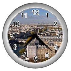 Notre Dame Wall Clocks (silver)  by trendistuff