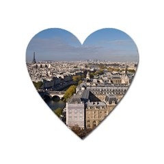 Notre Dame Heart Magnet by trendistuff