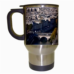 Notre Dame Travel Mugs (white) by trendistuff