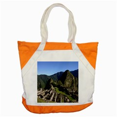 Machu Picchu Accent Tote Bag  by trendistuff