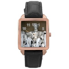Lincoln Memorial Rose Gold Watches by trendistuff