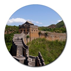 Great Wall Of China 3 Round Mousepads by trendistuff