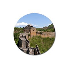 Great Wall Of China 3 Magnet 3  (round) by trendistuff