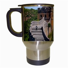 Great Wall Of China 3 Travel Mugs (white) by trendistuff