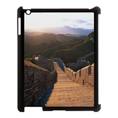 Great Wall Of China 2 Apple Ipad 3/4 Case (black) by trendistuff