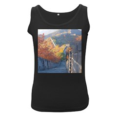 Great Wall Of China 1 Women s Black Tank Tops