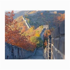 Great Wall Of China 1 Small Glasses Cloth (2 Side) by trendistuff