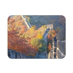 Great Wall Of China 1 Double Sided Flano Blanket (mini)  by trendistuff