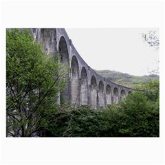 Glenfinnan Viaduct 2 Large Glasses Cloth by trendistuff