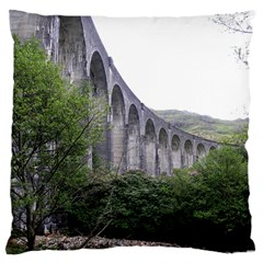 Glenfinnan Viaduct 2 Large Cushion Cases (one Side)  by trendistuff