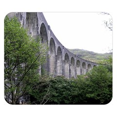 Glenfinnan Viaduct 2 Double Sided Flano Blanket (small)
