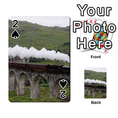 Glenfinnan Viaduct 1 Playing Cards 54 Designs
