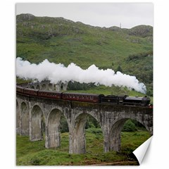 Glenfinnan Viaduct 1 Canvas 8  X 10