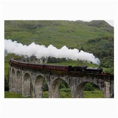 Glenfinnan Viaduct 1 Large Glasses Cloth by trendistuff