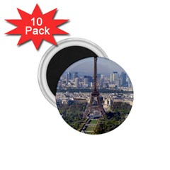 Eiffel Tower 2 1 75  Magnets (10 Pack)  by trendistuff