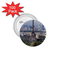 Eiffel Tower 2 1 75  Buttons (100 Pack)  by trendistuff