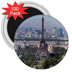 Eiffel Tower 2 3  Magnets (100 Pack) by trendistuff