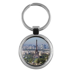 Eiffel Tower 2 Key Chains (round)  by trendistuff