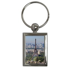 Eiffel Tower 2 Key Chains (rectangle)  by trendistuff