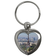Eiffel Tower 2 Key Chains (heart)  by trendistuff