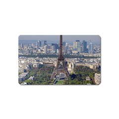 Eiffel Tower 2 Magnet (name Card) by trendistuff