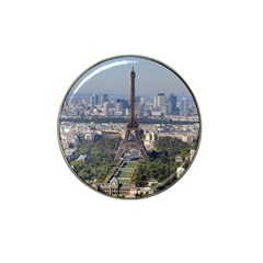Eiffel Tower 2 Hat Clip Ball Marker (4 Pack) by trendistuff