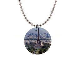 Eiffel Tower 2 Button Necklaces by trendistuff