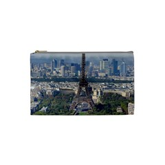 Eiffel Tower 2 Cosmetic Bag (small)  by trendistuff