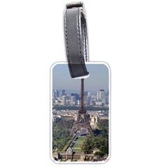 Eiffel Tower 2 Luggage Tags (two Sides) by trendistuff