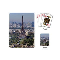 Eiffel Tower 2 Playing Cards (mini)  by trendistuff
