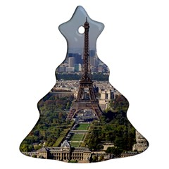 Eiffel Tower 2 Ornament (christmas Tree) by trendistuff
