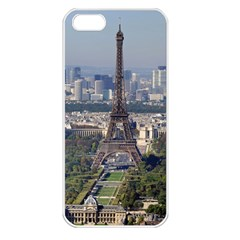 Eiffel Tower 2 Apple Iphone 5 Seamless Case (white) by trendistuff