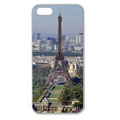 Eiffel Tower 2 Apple Seamless Iphone 5 Case (clear) by trendistuff