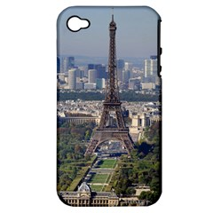 Eiffel Tower 2 Apple Iphone 4/4s Hardshell Case (pc+silicone) by trendistuff