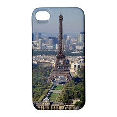 Eiffel Tower 2 Apple Iphone 4/4s Hardshell Case With Stand by trendistuff