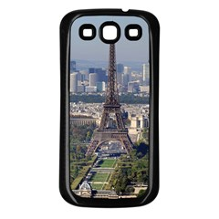 Eiffel Tower 2 Samsung Galaxy S3 Back Case (black) by trendistuff
