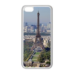Eiffel Tower 2 Apple Iphone 5c Seamless Case (white) by trendistuff