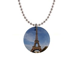 Eiffel Tower Button Necklaces