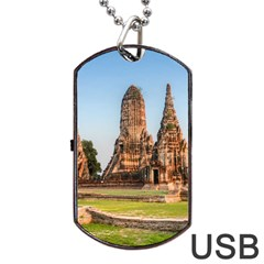Chaiwatthanaram Dog Tag Usb Flash (two Sides)  by trendistuff
