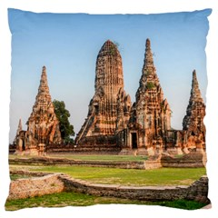 Chaiwatthanaram Large Cushion Cases (two Sides)  by trendistuff