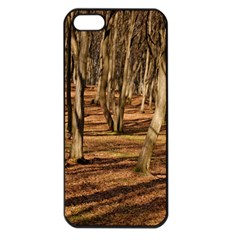 Wood Shadows Apple Iphone 5 Seamless Case (black) by trendistuff