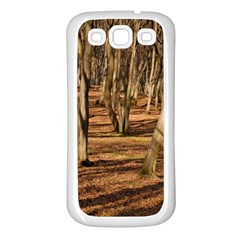 Wood Shadows Samsung Galaxy S3 Back Case (white) by trendistuff