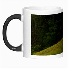 Three Crosses On A Hill Morph Mugs by trendistuff