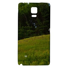 Three Crosses On A Hill Galaxy Note 4 Back Case by trendistuff