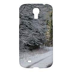 Snow On Road Samsung Galaxy S4 I9500/i9505 Hardshell Case by trendistuff